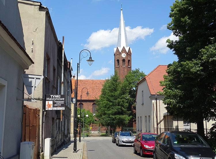 kościół ewangelicko-augsburski Kępno ciekawostki atrakcje zabytki