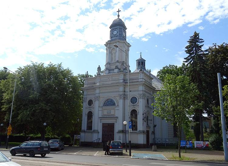 kościół ewangelicko-augsburski Różańcowej Pabianice ciekawostki atrakcje zabytki