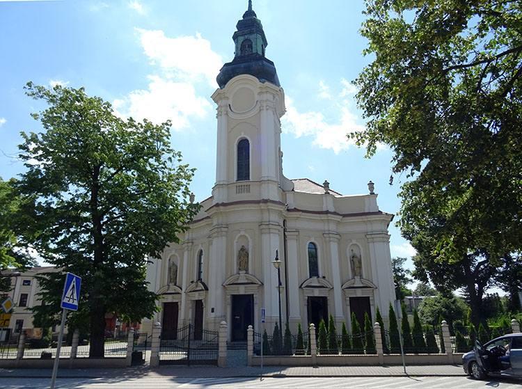 kościół św. Marcina Kępno ciekawostki atrakcje zabytki
