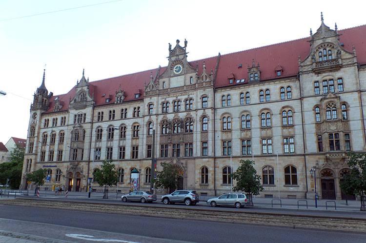 poczta Magdeburg ciekawostki atrakcje zabytki Niemcy