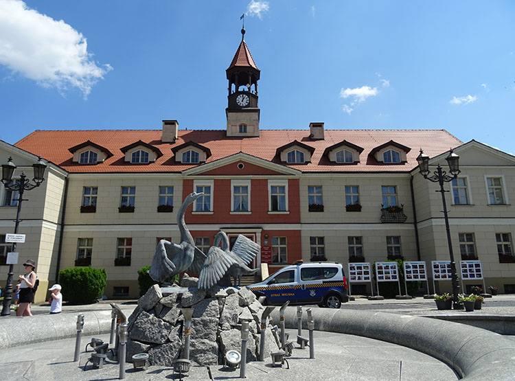 rynek ratusz w Kępnie atrakcje miasta Wielkopolska