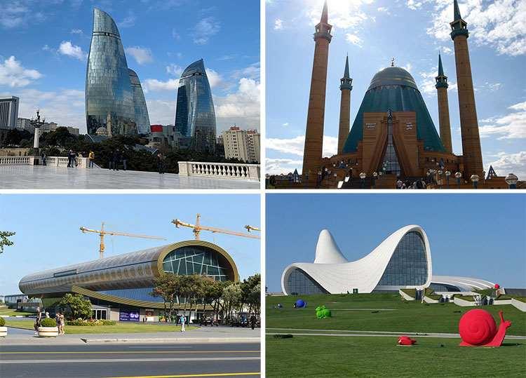 Baku atrakcje Azerbejdżan ciekawostki