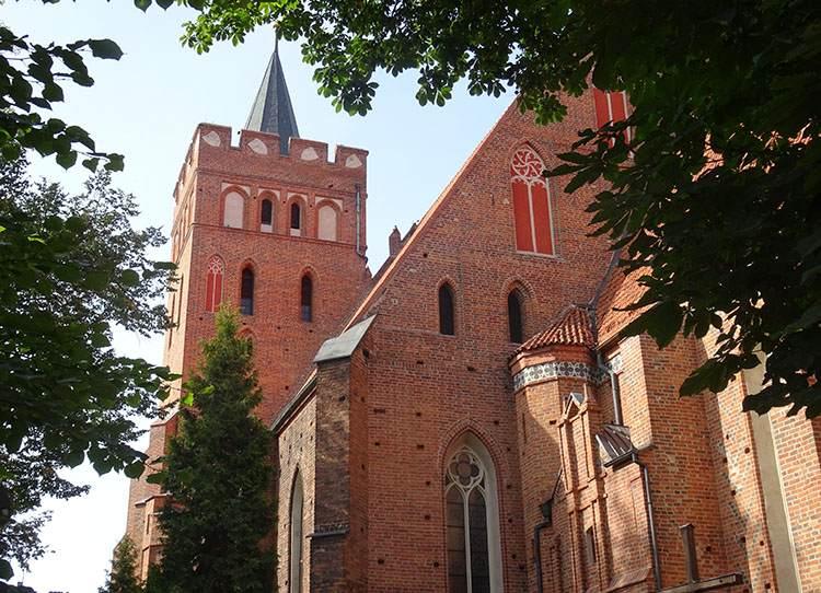 Brodnica kościół św. Katarzyny zabytki