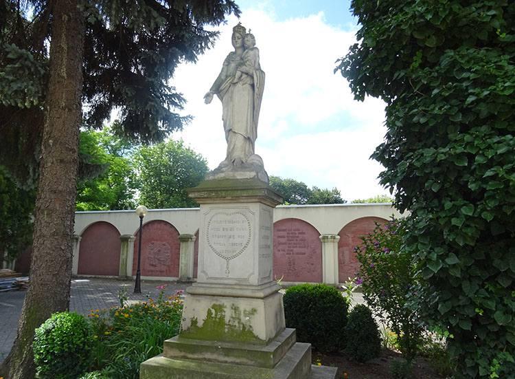 Maryja kościół Podwyższenia Krzyża Świętego Radomsko ciekawostki atrakcje zabytki
