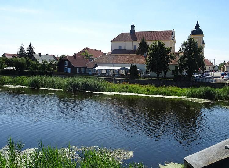 Urząd Miasta Pomnik Orła kościół rzeka Tykocin ciekawostki atrakcje zabytki