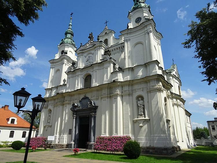 bazylika kościół Lubartów ciekawostki atrakcje zabytki