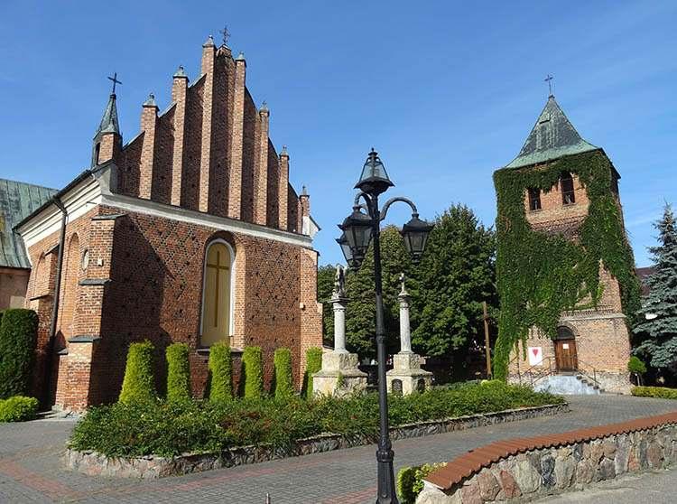 dzwonnica kościół św. Michała Archanioła Płońsk ciekawostki zabytki