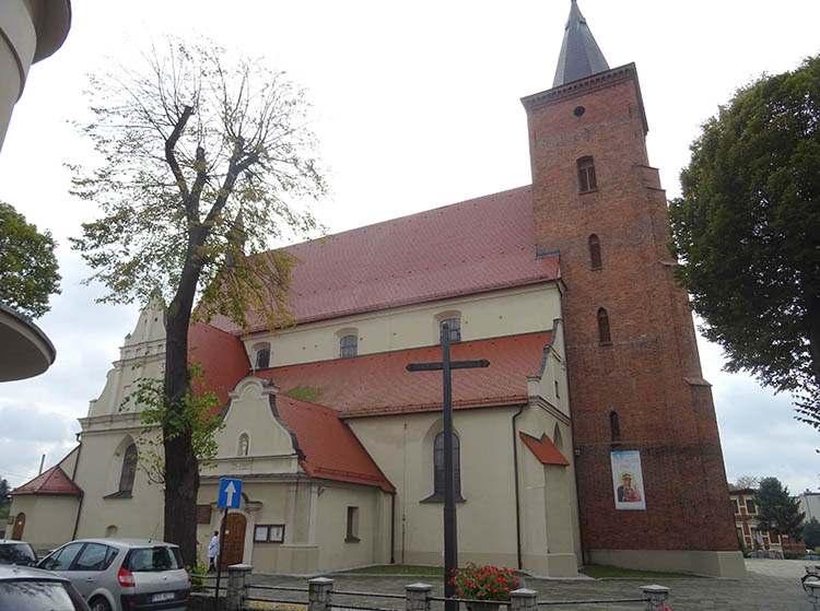 kościół Jana Chrzciciela Krotoszyn zabytki