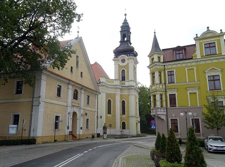 kościół Piotra i Pawła muzeum regionalne Ławniczaka Krotoszyn ciekawostki zabytki