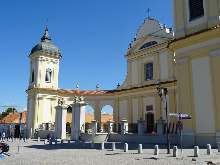 Urząd Miasta Pomnik Orła kościół Tykocin ciekawostki atrakcje zabytki
