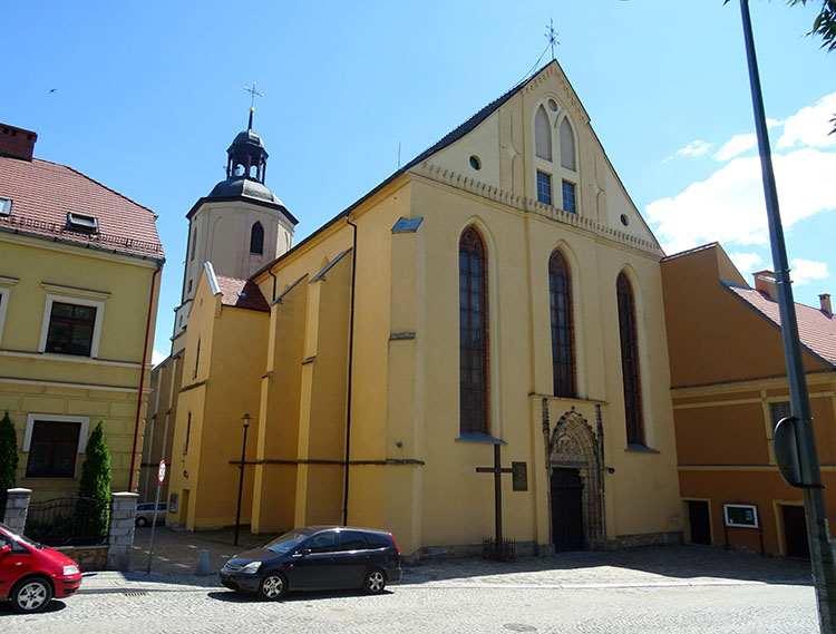 kościół karmelitów Zbawiciela Strzegom ciekawostki atrakcje