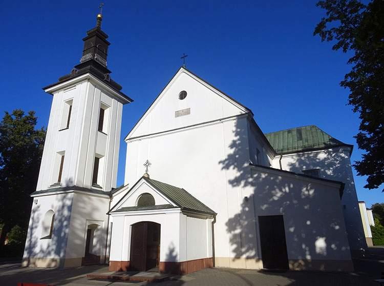 kościół św. Anny Grodzisk Mazowiecki ciekawostki zabytki