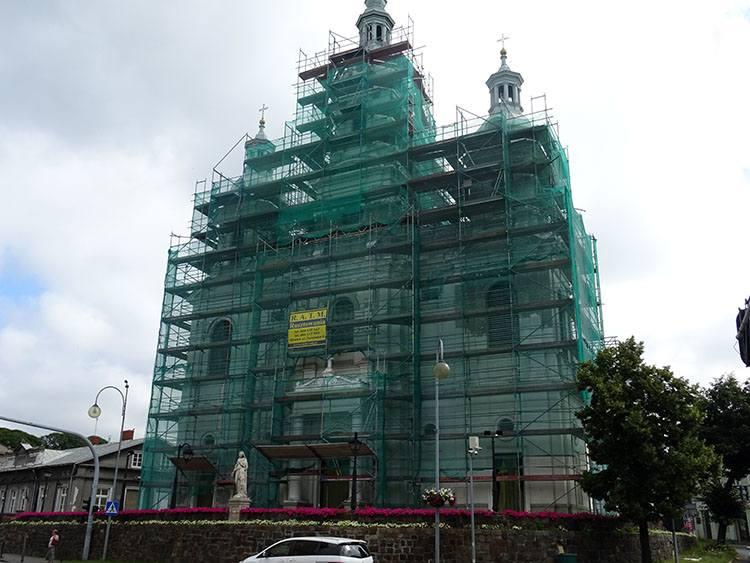 kościół katedra św. Lamberta Radomsko ciekawostki atrakcje zabytki