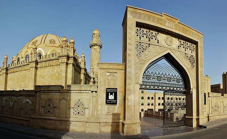 meczet Taza Pir Baku atrakcje