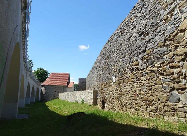mury obronne Strzegom zabytki historia atrakcje