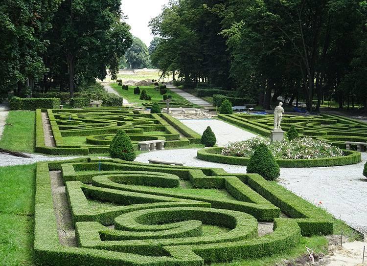 park pałac Sanguszków Lubartów ciekawostki atrakcje zabytki