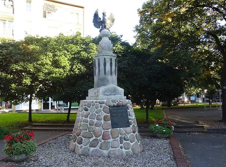 pomnik Wolności i Zwycięstwa w Grodzisku Mazowieckim