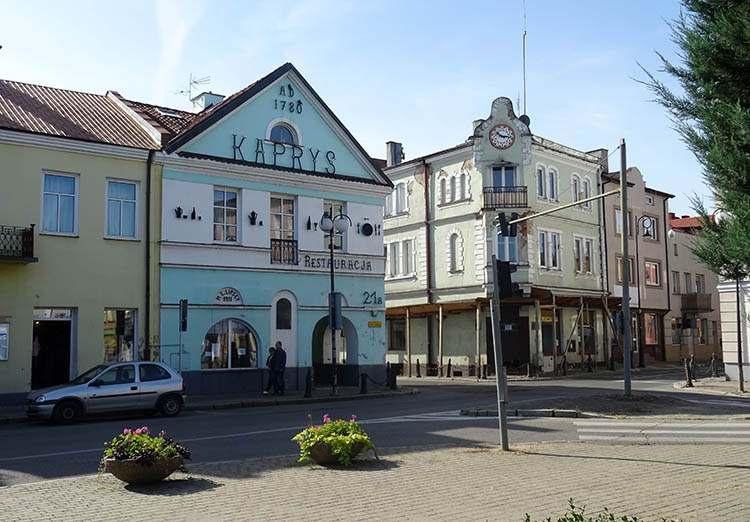 kamienice przy rynku w Płońsku