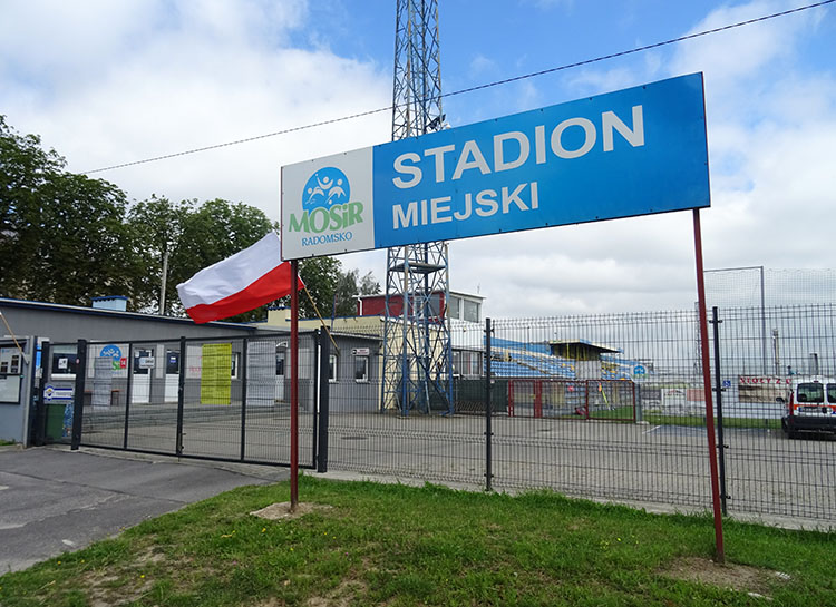 stadion miejski Radomsko ciekawostki atrakcje zabytki