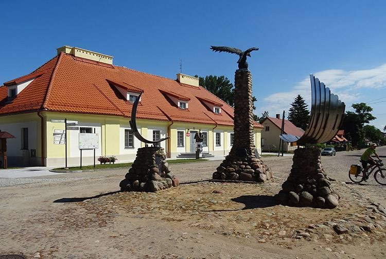 Urząd Miasta Pomnik Orła Białego Tykocin ciekawostki atrakcje zabytki