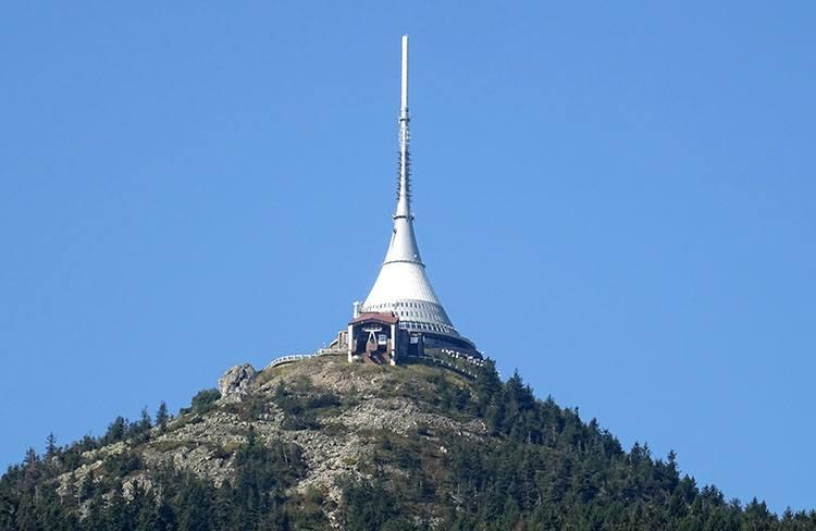 Jested Liberec Czechy ciekawostki atrakcje