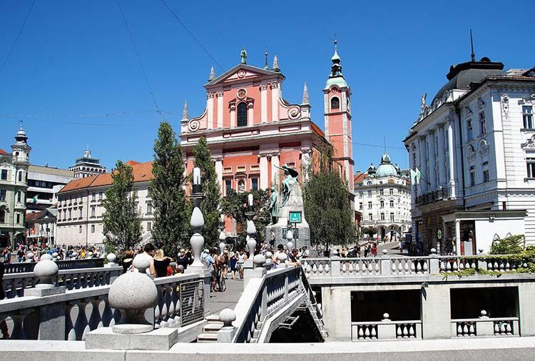 Lublana Ljubljana Stare Miasto Słowenia ciekawostki zabytki atrakcje