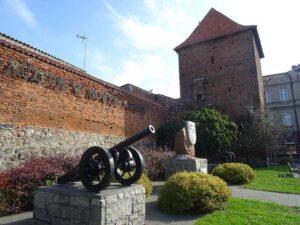 Muzeum Ziemi Lubawskiej baszta Nowe Miasto Lubawskie