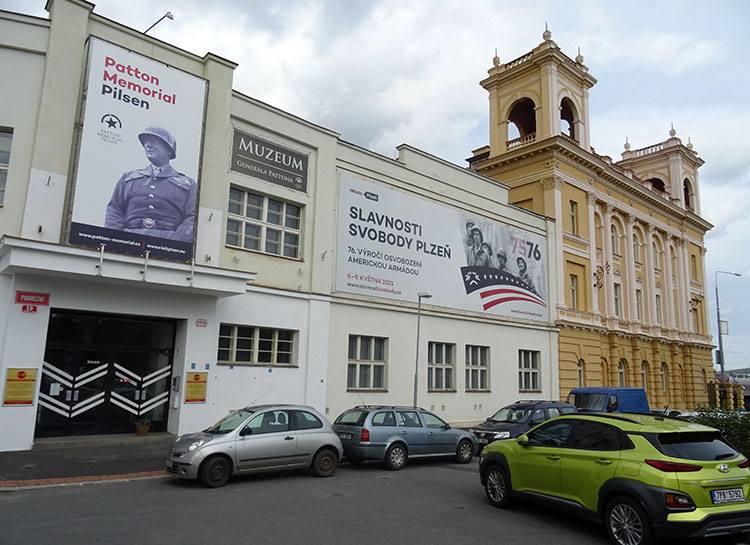 Patton Memorial Pilsen Pilzno Plzen Czechy ciekawostki atrakcje zabytki