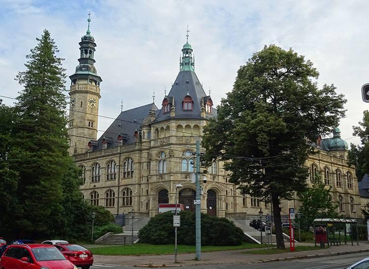 Muzeum Północnoczeskie Liberec Czechy ciekawostki atrakcje zabytki