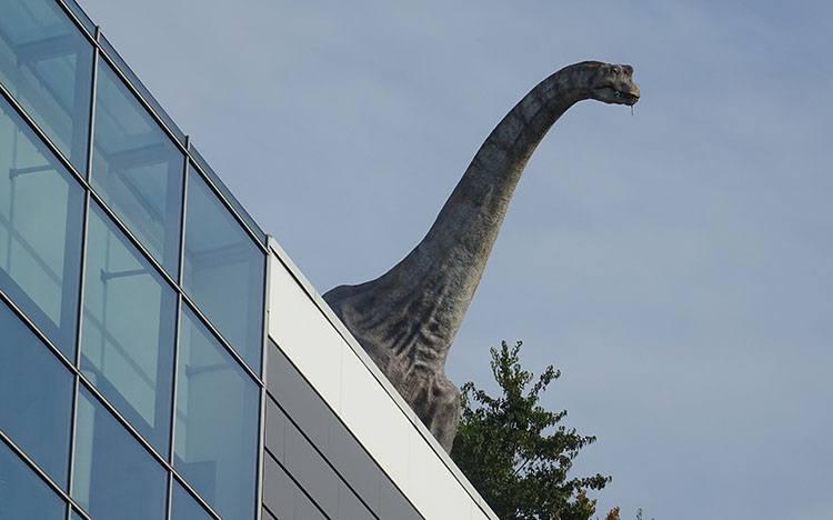dinopark dinozaur Liberec Czechy ciekawostki atrakcje zabytki
