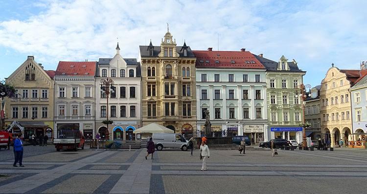 kamienice rynek Liberec Czechy ciekawostki atrakcje zabytki