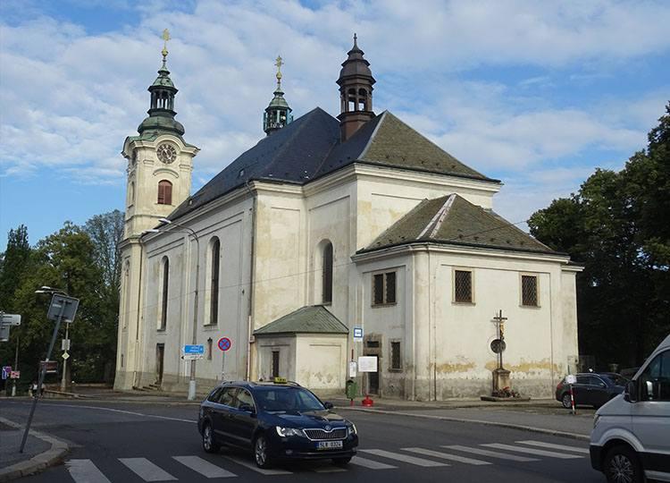 kościół św. Krzyża Liberec Czechy ciekawostki atrakcje zabytki