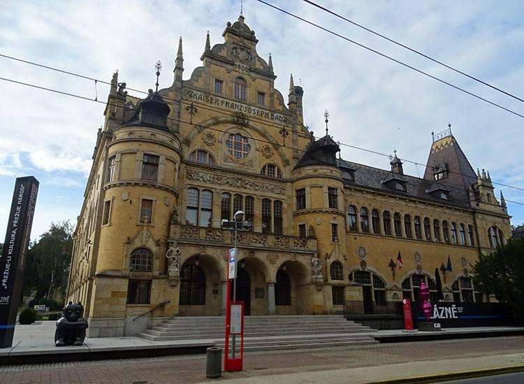 łaźnie miejskie Liberec Czechy ciekawostki atrakcje zabytki