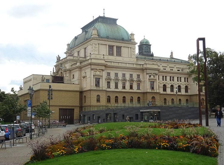 teatr Pilzno Plzen Czechy ciekawostki atrakcje zabytki