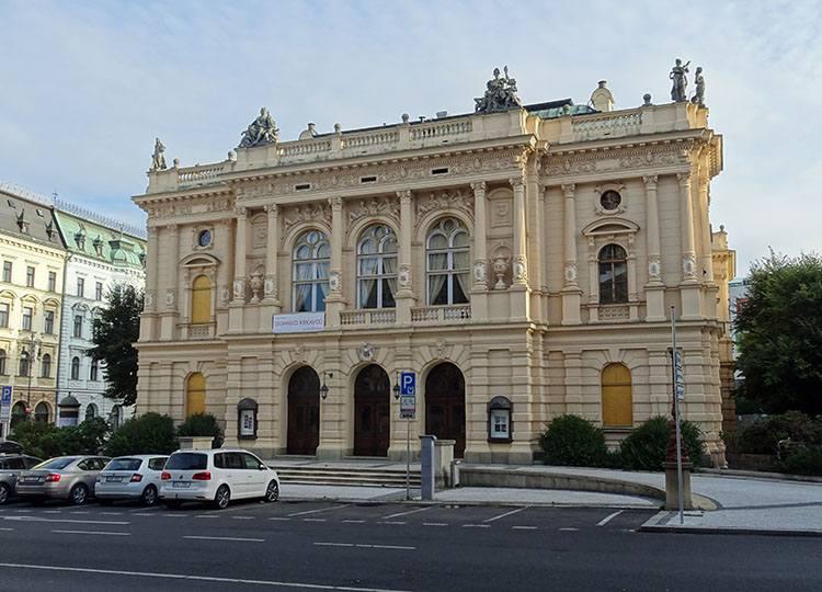 teatr divadlo Liberec Czechy ciekawostki atrakcje zabytki