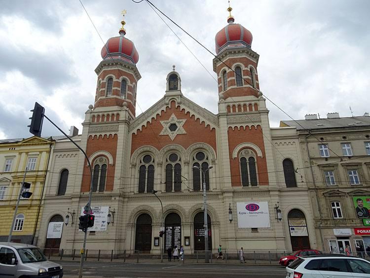 Wielka Synagoga Pilzno Plzen Czechy ciekawostki atrakcje zabytki