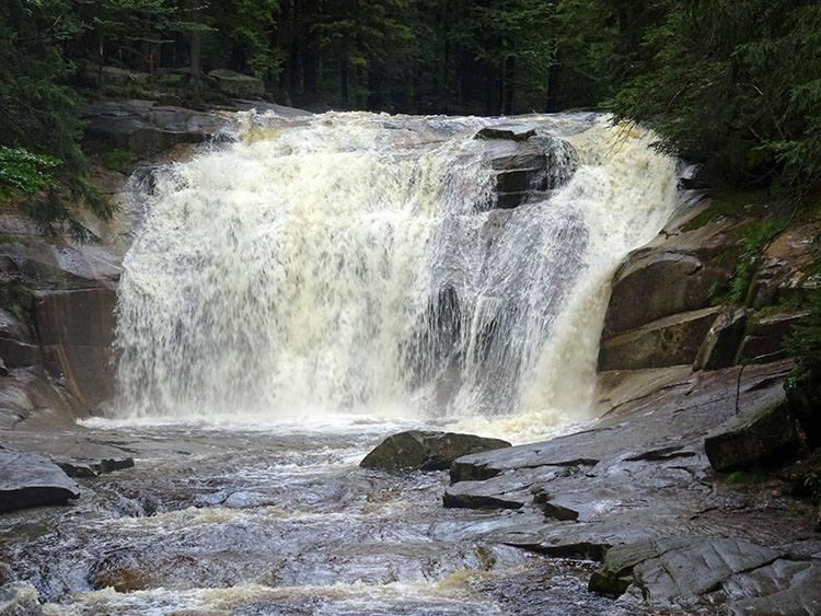 wodospad Mumlawa Harrachov Czechy ciekawostki atrakcje