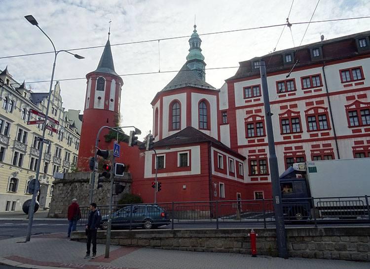 zamek Liberec Czechy ciekawostki atrakcje zabytki