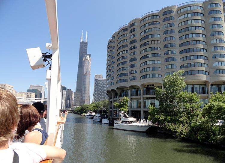 rzeka Chicago Illinois USA atrakcje ciekawostki