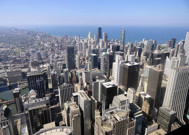 wieżowiec Willis Tower Chicago ciekawostki atrakcje