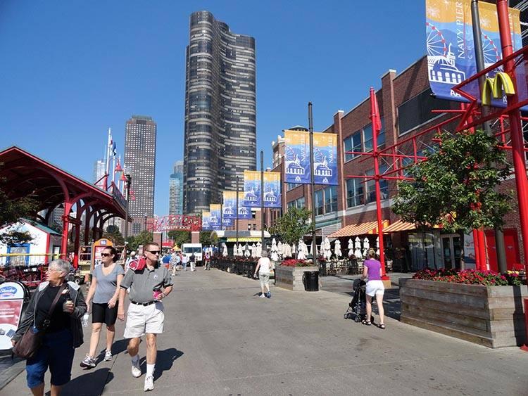 Navy Pier Chicago ciekawostki atrakcje