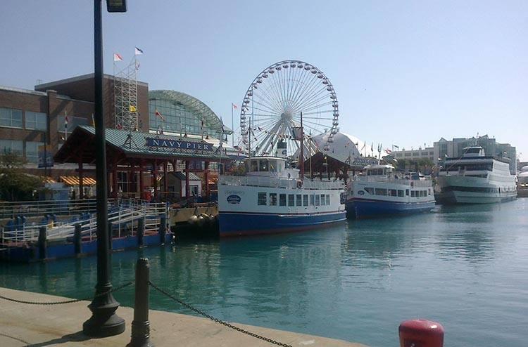 Navy Pier wieżowce Chicago ciekawostki atrakcje