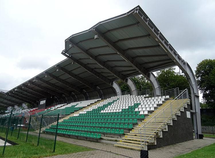 Stadion Karkonoszy Miejski  Jelenia Góra ciekawostki atrakcje