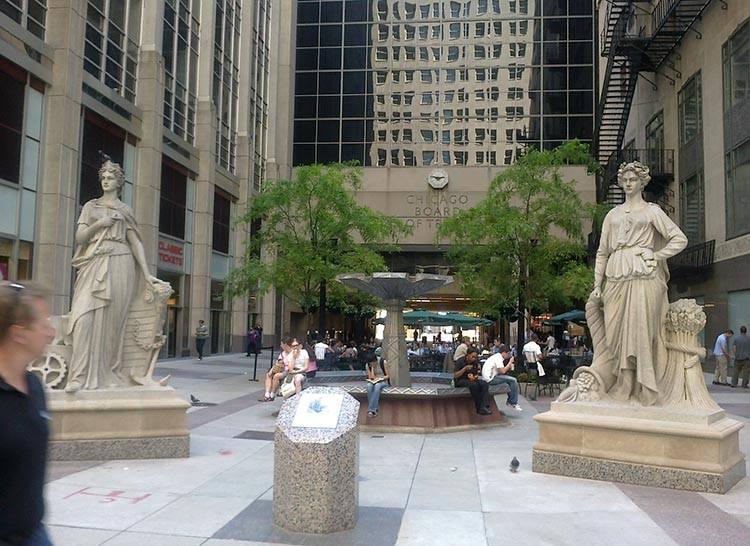 giełda Board of Trade Chicago ciekawostki atrakcje