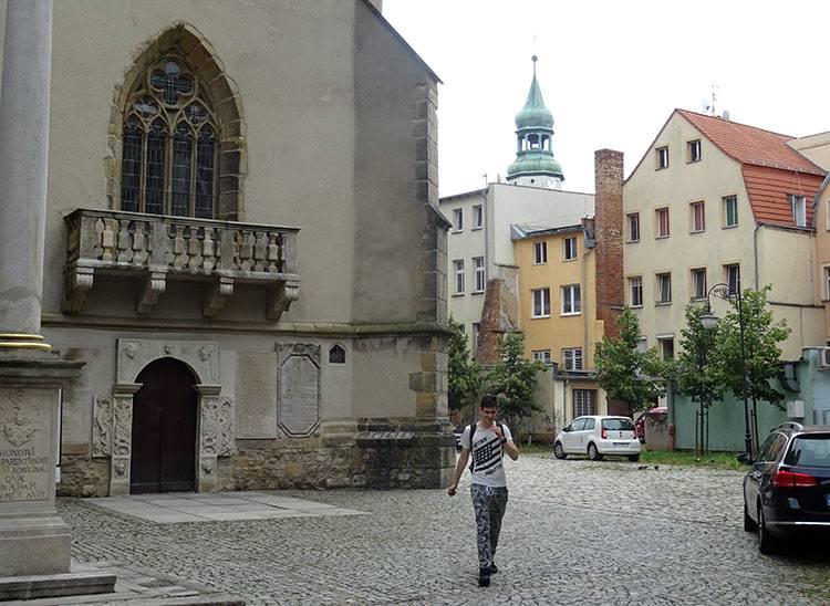 kościół bazylika Erazma Pankracego Jelenia Góra ciekawostki atrakcje
