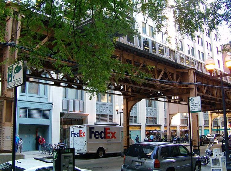 metro Chicago Illinois USA atrakcje ciekawostki