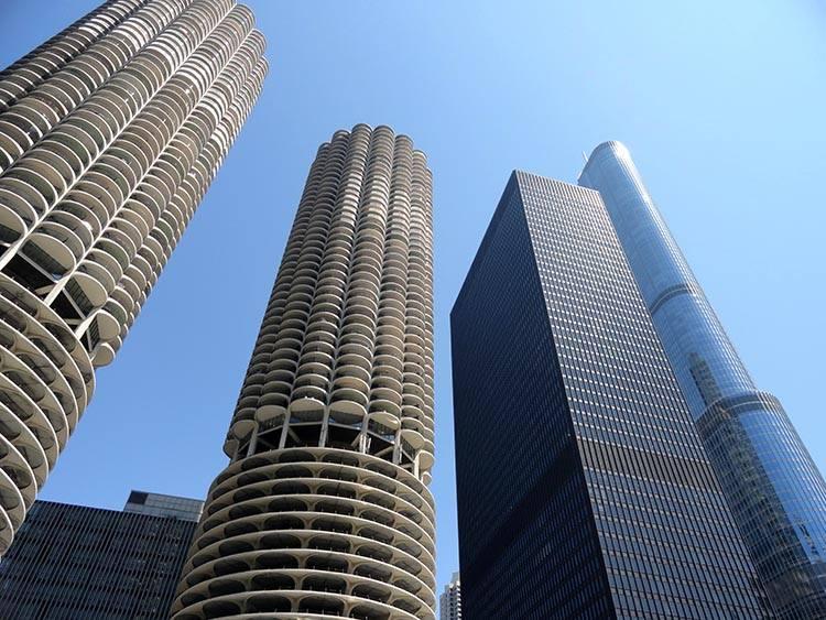parking wieżowce Chicago ciekawostki atrakcje