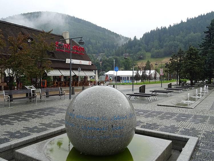 Plac świętego Jakuba Szczyrk ciekawostki atrakcje