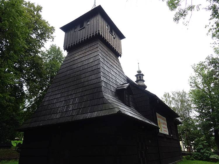 kościół sanktuarium Św. Jakuba kasy Szczyrk ciekawostki atrakcje