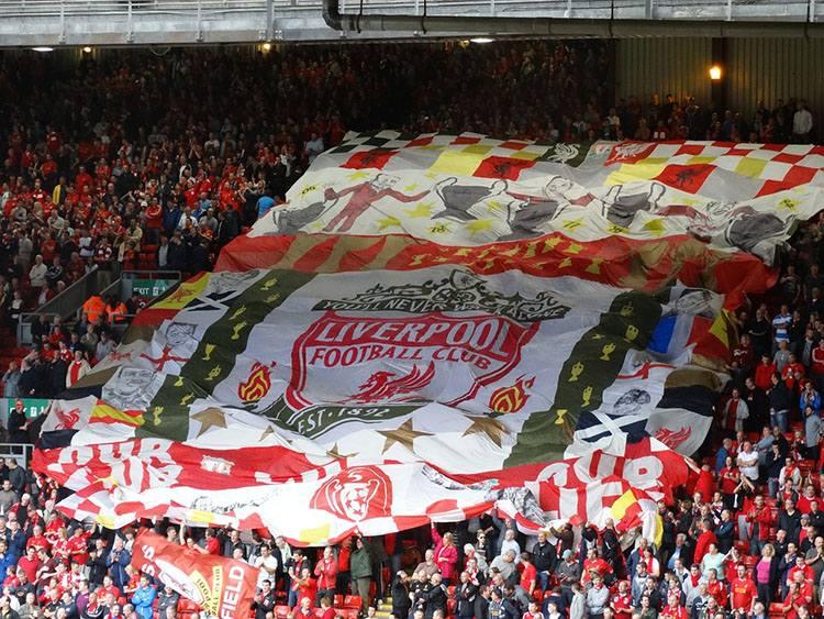 stadion Anfield Liverpool największe stadiony Anglia piłka nożna Premier League